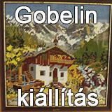 Gobelin kiállítás megnyitója
