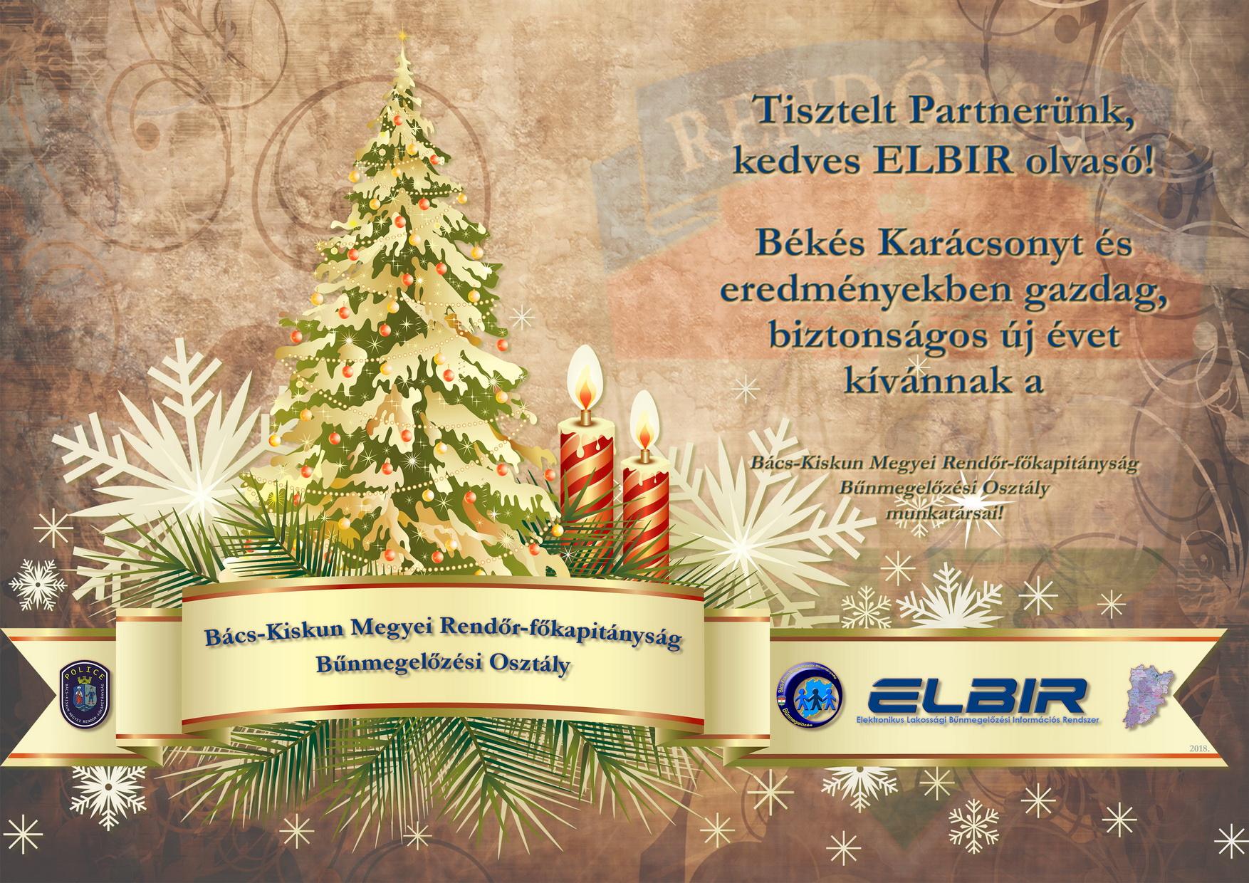ELBIR jókívánság '18